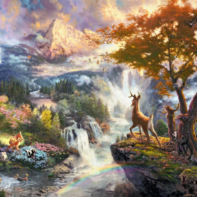 Bambi Disney Jigsaw Puzzle