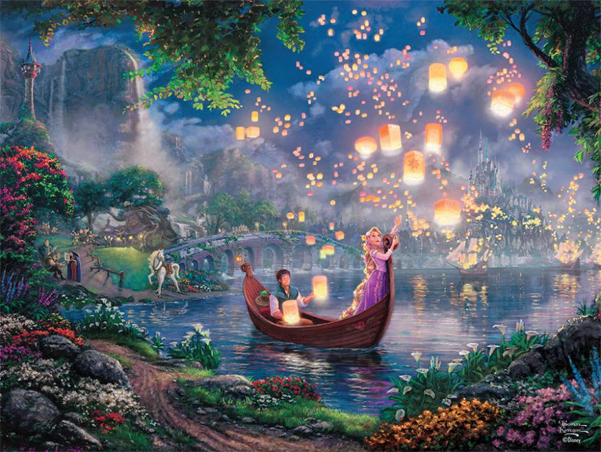 Tangled (Disney Dreams) Disney Jigsaw Puzzle