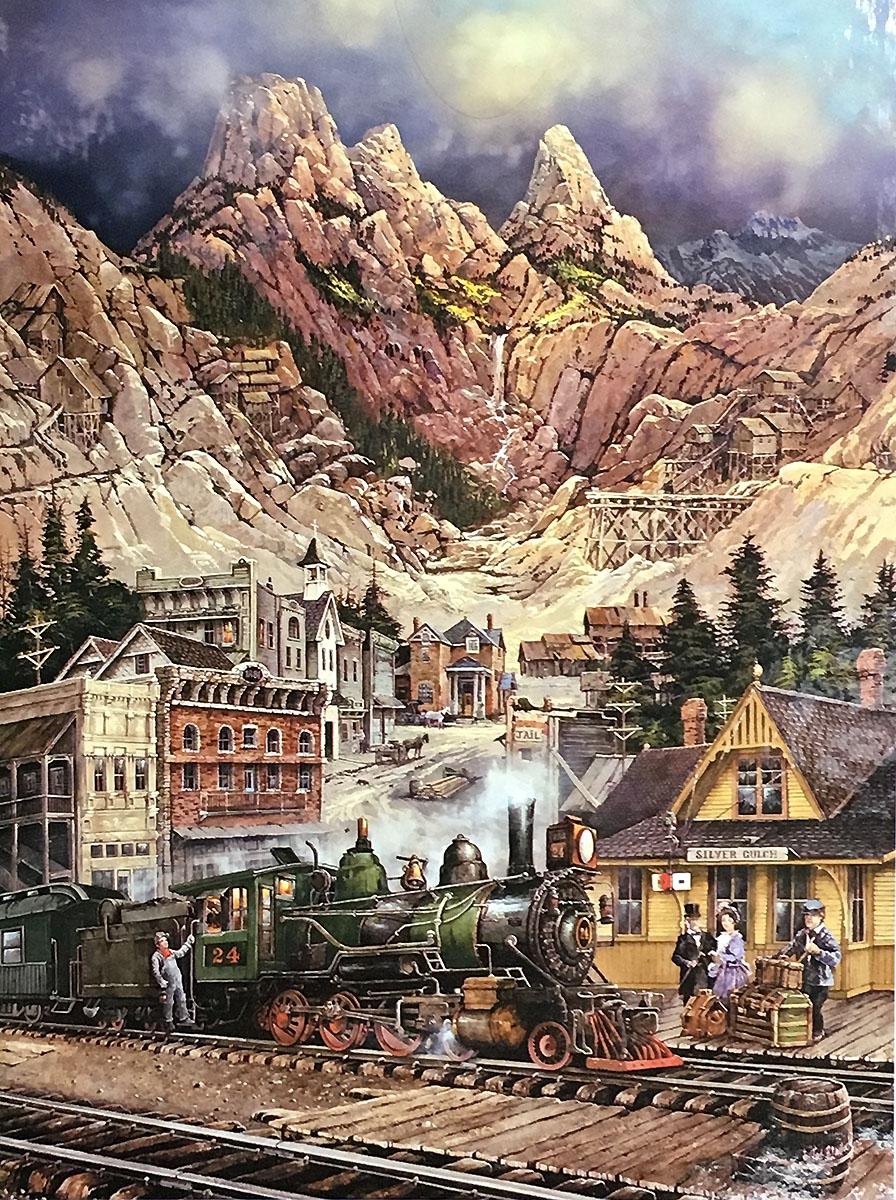 Silver Gulch Trains Jigsaw Puzzle