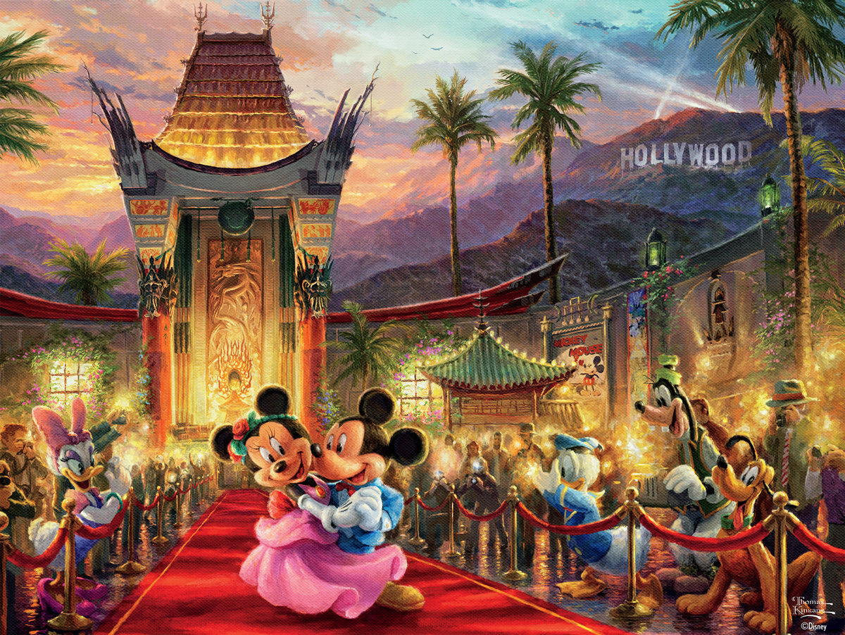 Mickey & Minnie Hollywood Disney Jigsaw Puzzle