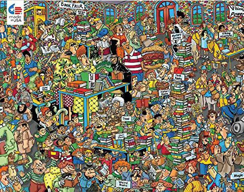 Book Fair Graphics / Illustration Jigsaw Puzzle