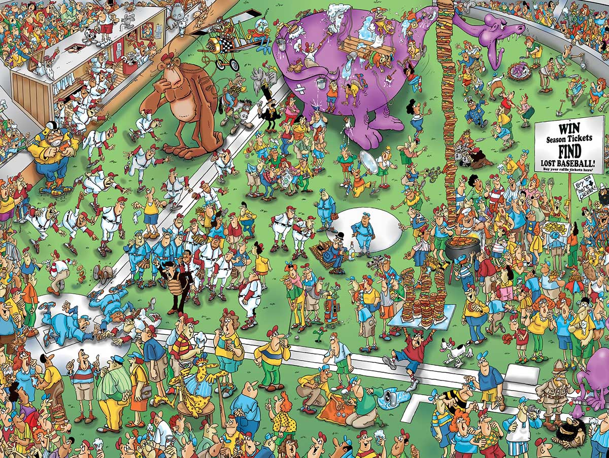 Lost Ball Graphics / Illustration Jigsaw Puzzle