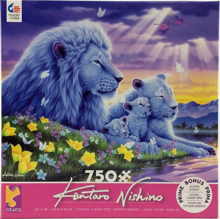 Lion's Happiest Moments Lions Jigsaw Puzzle
