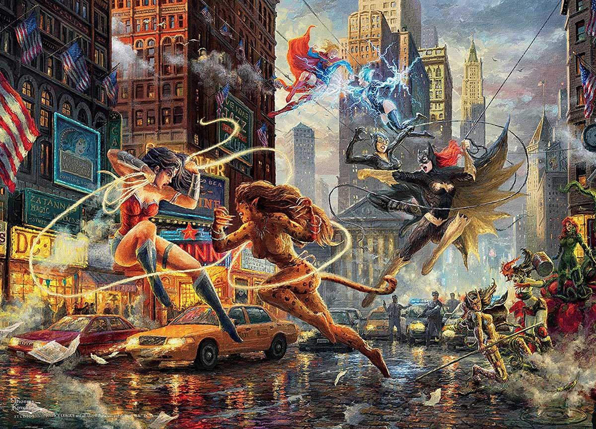 The Women of DC Super-heroes Jigsaw Puzzle