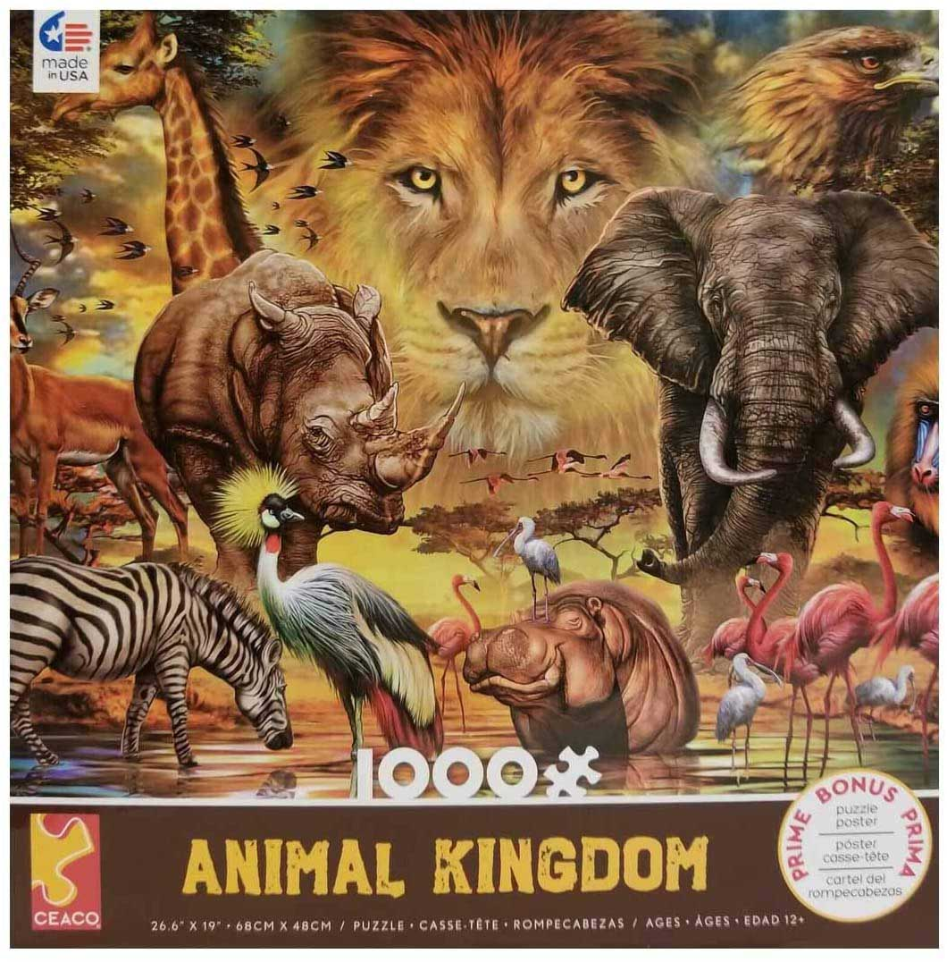 King Sky Animals Jigsaw Puzzle