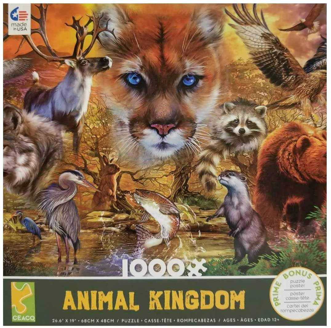 Mammals Animals Jigsaw Puzzle