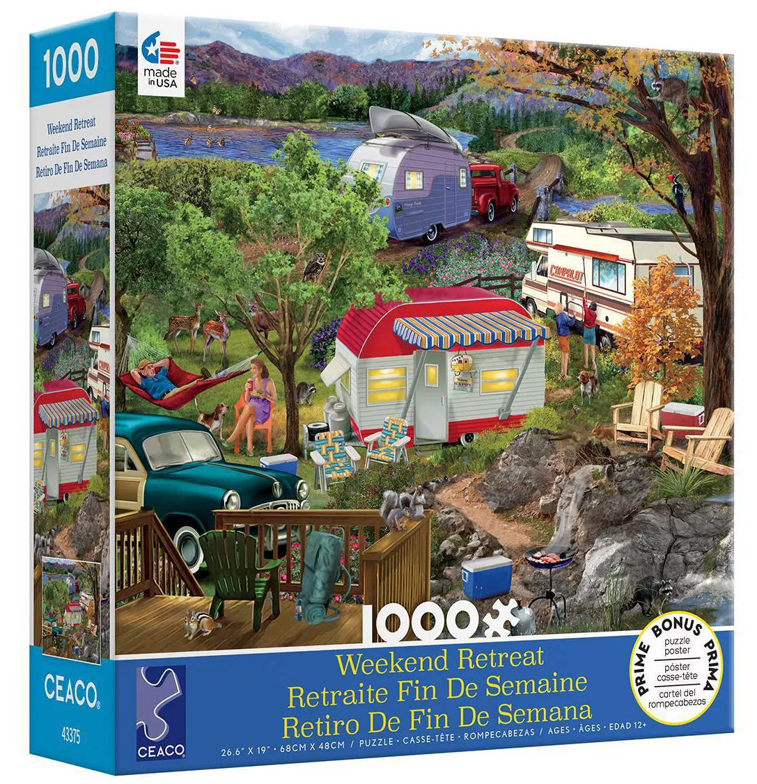 Camping Forest Jigsaw Puzzle