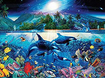 Majestic Kingdom Under The Sea Jigsaw Puzzle