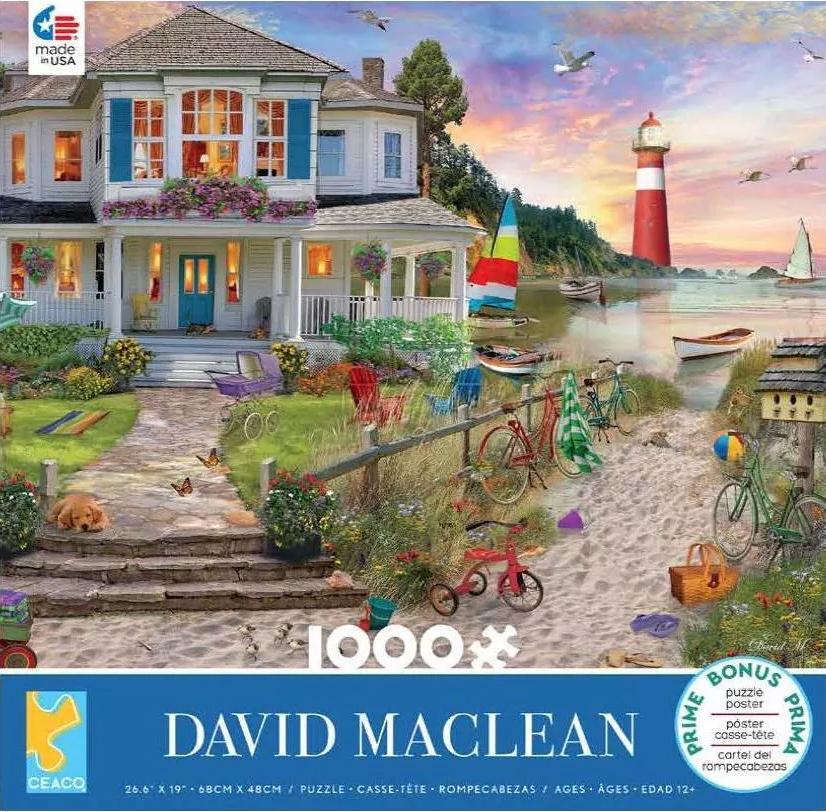 Beach Cove Lighthouses Jigsaw Puzzle