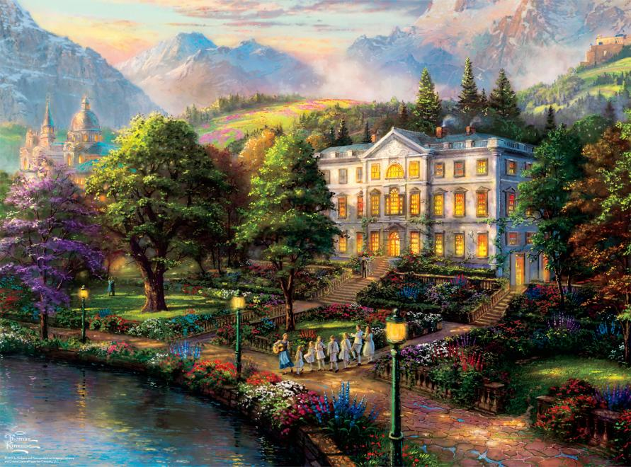Sound Of Music Wb Movie Classics Jigsaw Puzzle