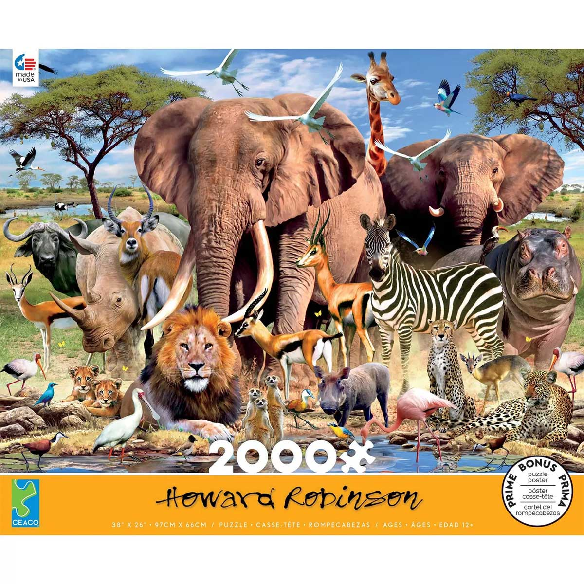 African Plains Animals Jigsaw Puzzle