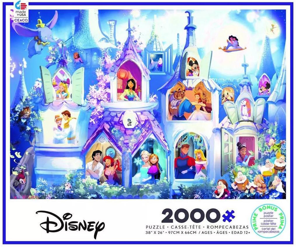 Princess Castle Disney Jigsaw Puzzle