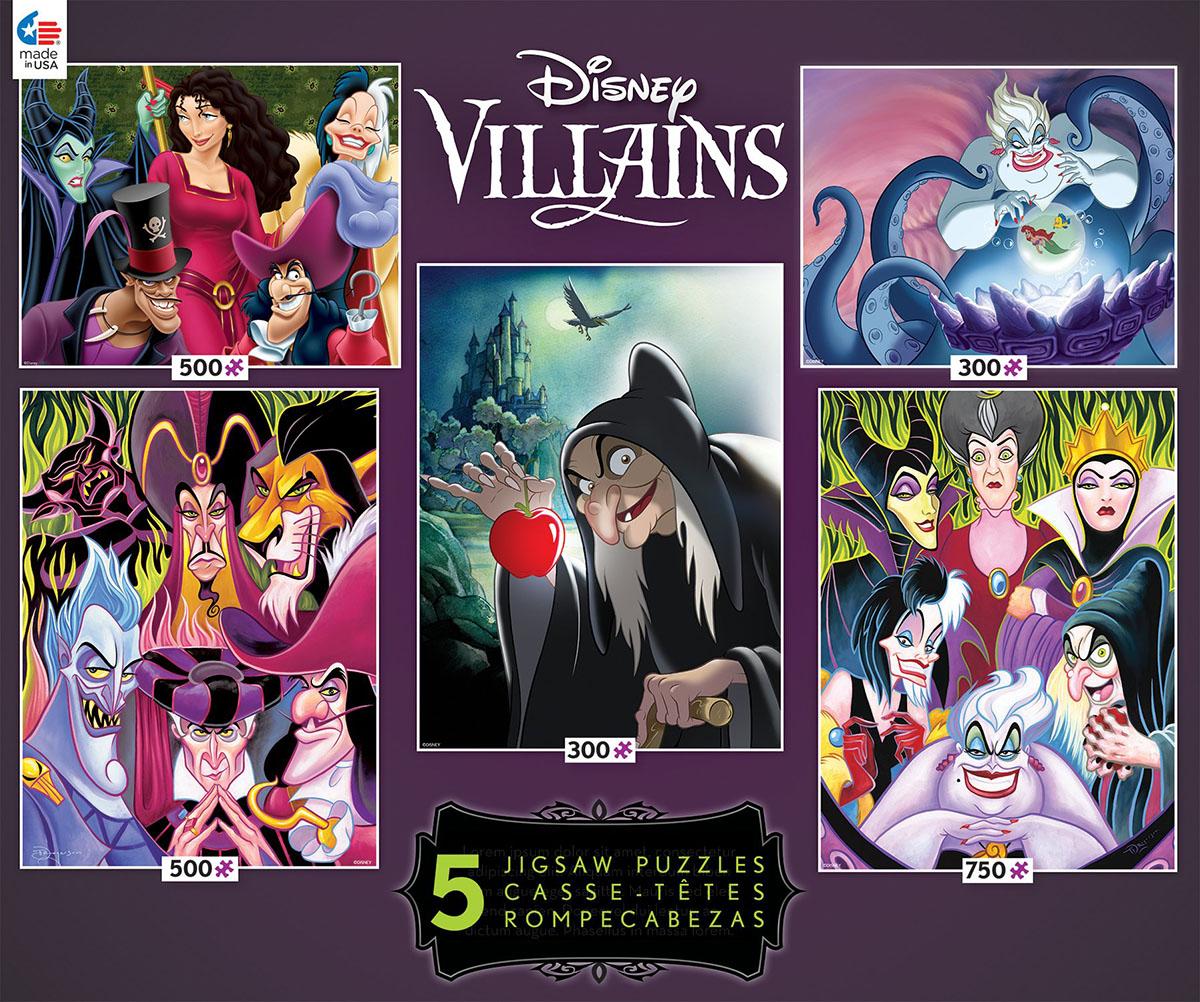Villians 5 in 1 (Disney) 2 Disney Jigsaw Puzzle