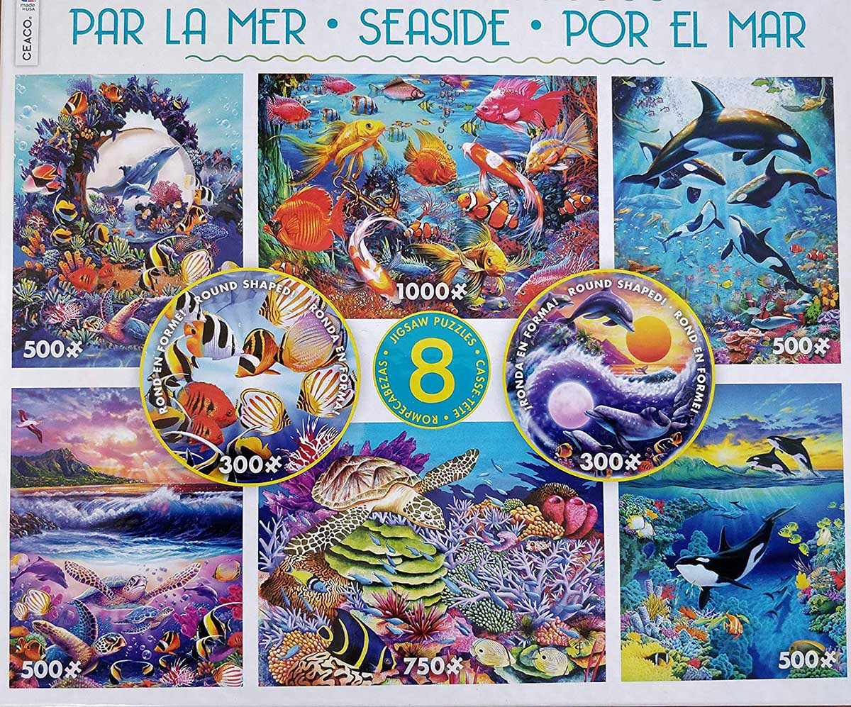 Seaside 8-in-1 Under The Sea Jigsaw Puzzle