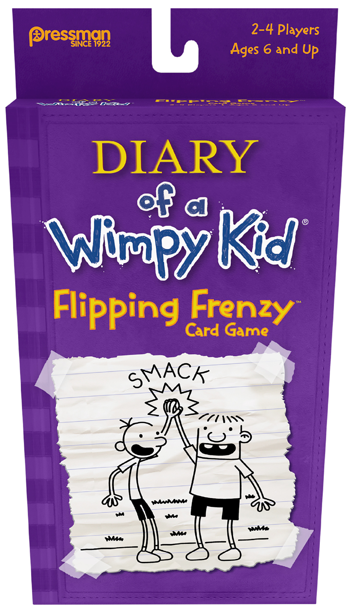 Diary of a Wimpy Kid®  Flippin' Frenzy Card Game