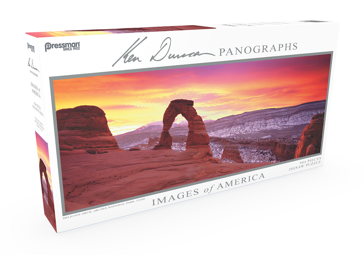 Images of America Panoramic Puzzle - Delicate Arch Landscape Jigsaw Puzzle