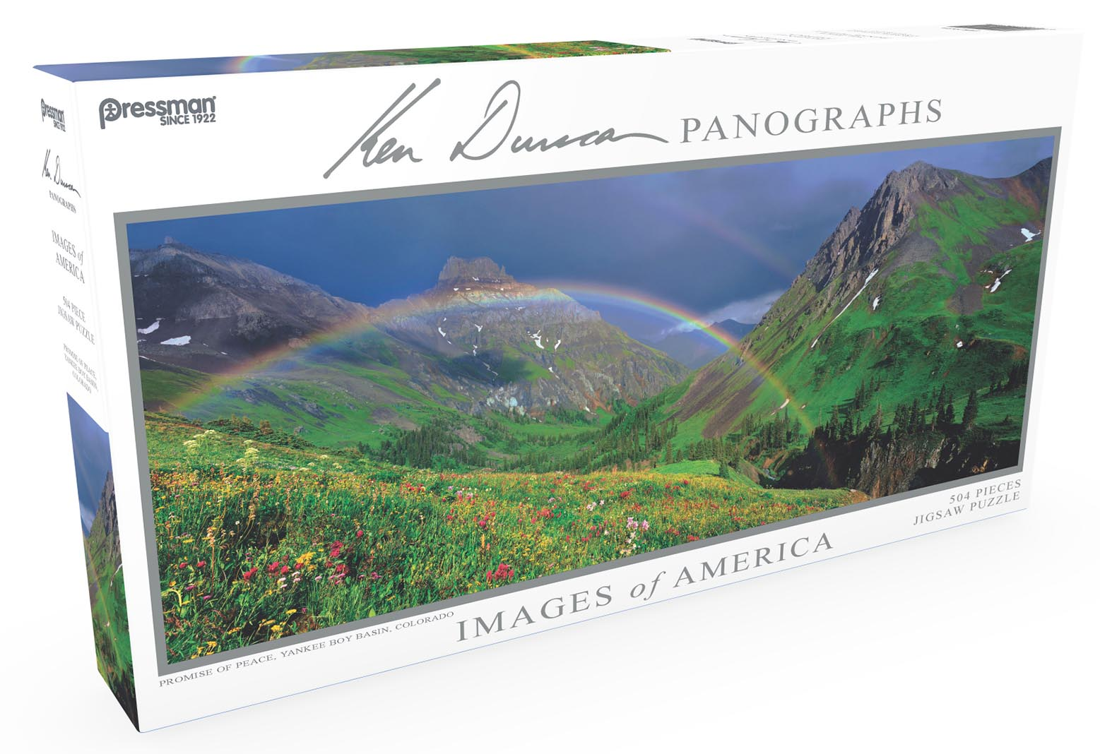 Images of America Panoramic Puzzle - Promise of Peace Landscape Jigsaw Puzzle