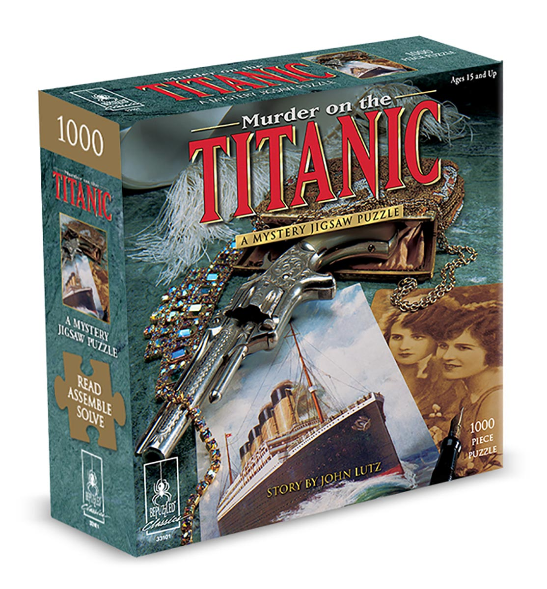 Murder on the Titanic - Scratch and Dent Murder Mystery Jigsaw Puzzle