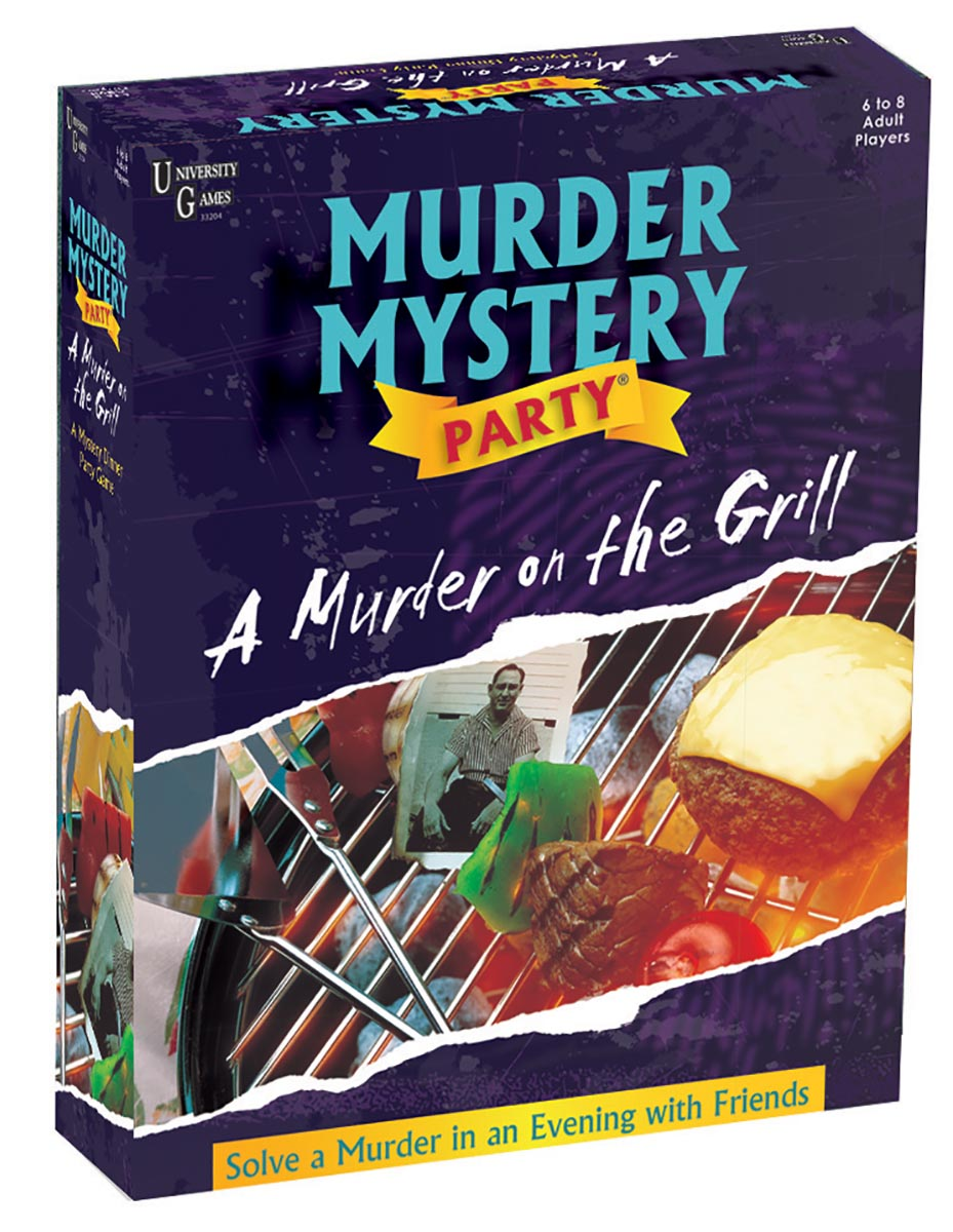 A Murder on the Grill Game - Scratch and Dent Father's Day