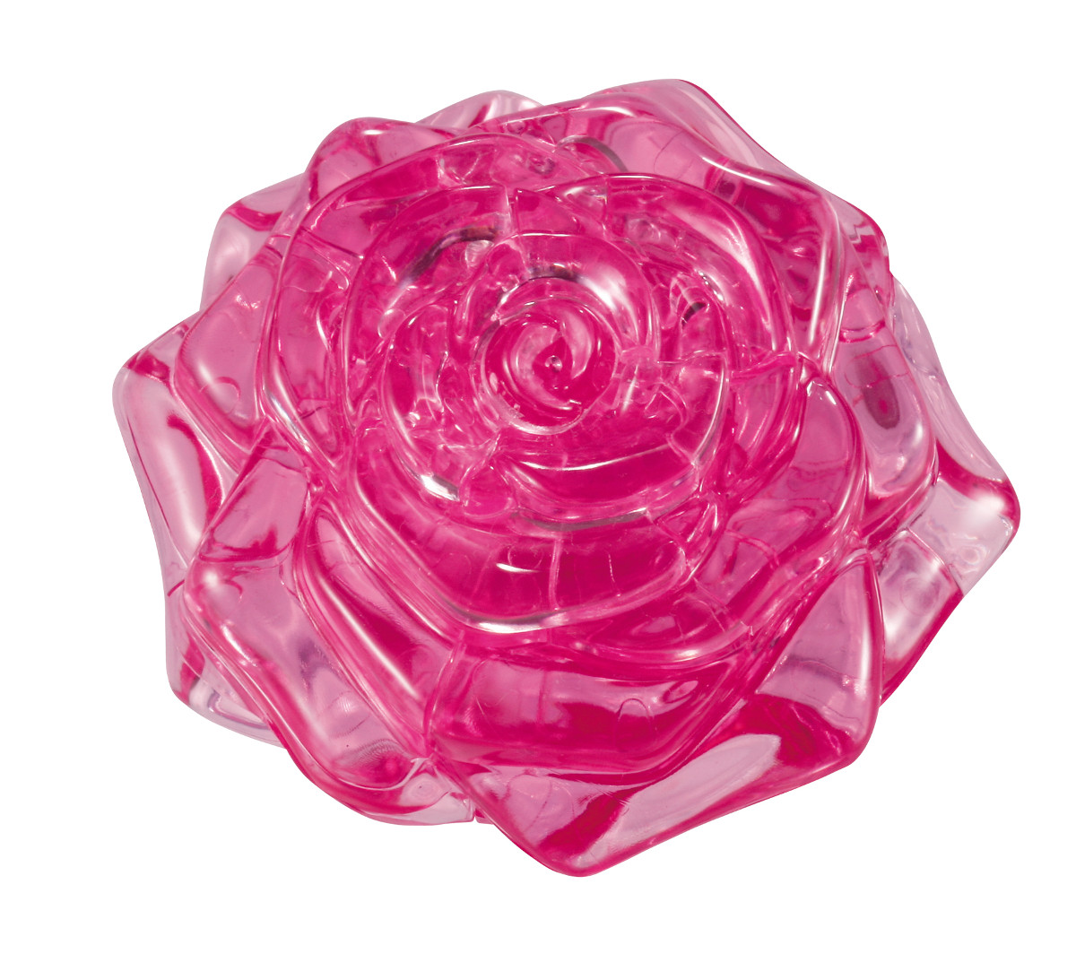 Rose (Pink) Flowers Jigsaw Puzzle