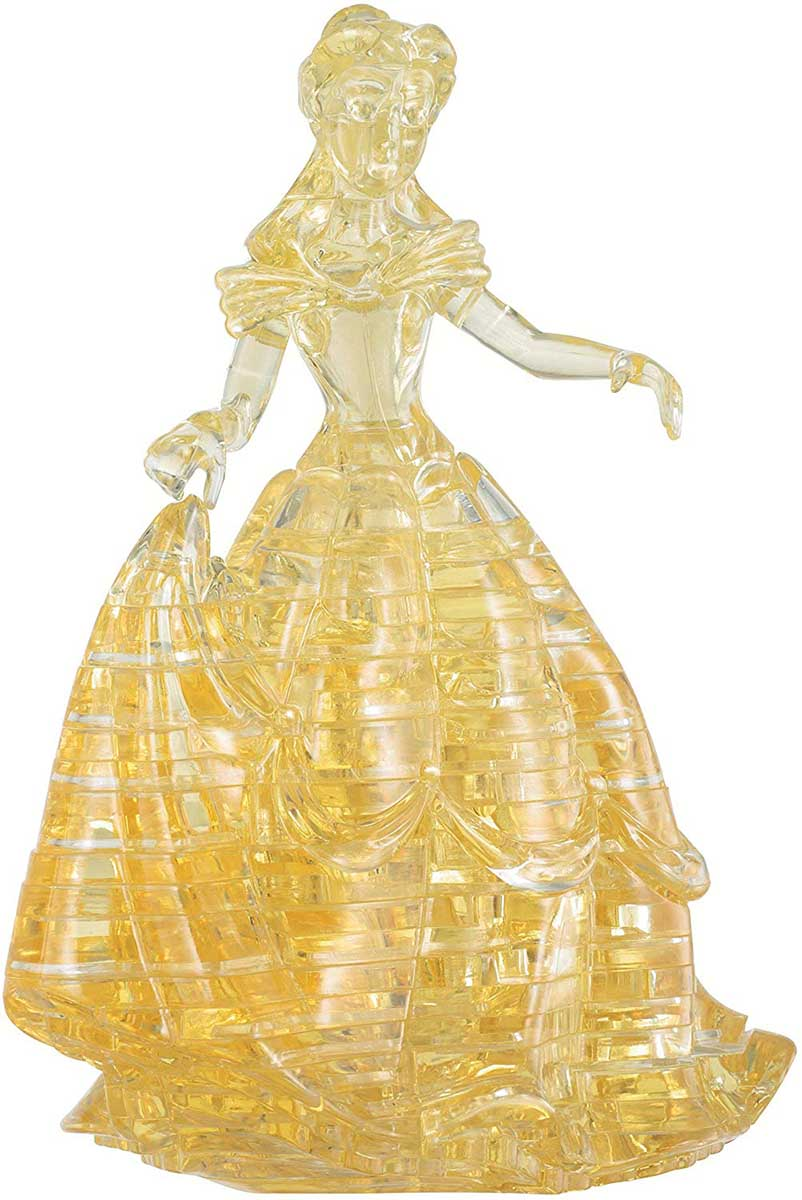 Belle Crystal Puzzle - Scratch and Dent Disney 3D Puzzle