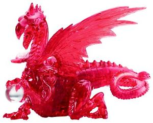 Red Dragon Deluxe - Scratch and Dent Dragons 3D Puzzle