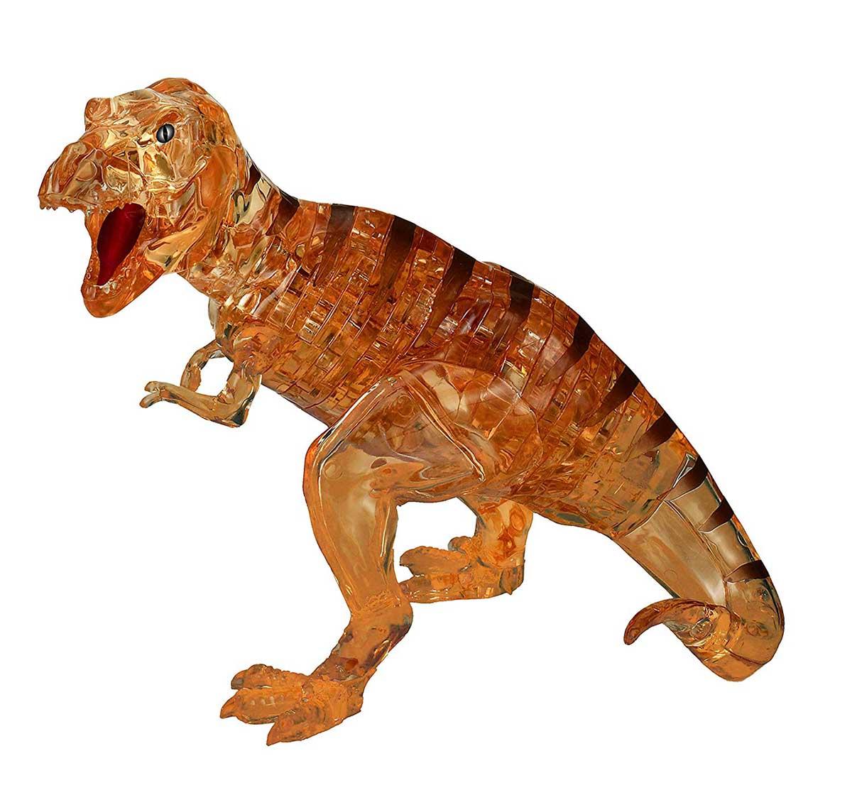 Brown T-Rex Dinosaurs 3D Puzzle