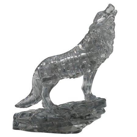 Black Wolf Wolves 3D Puzzle
