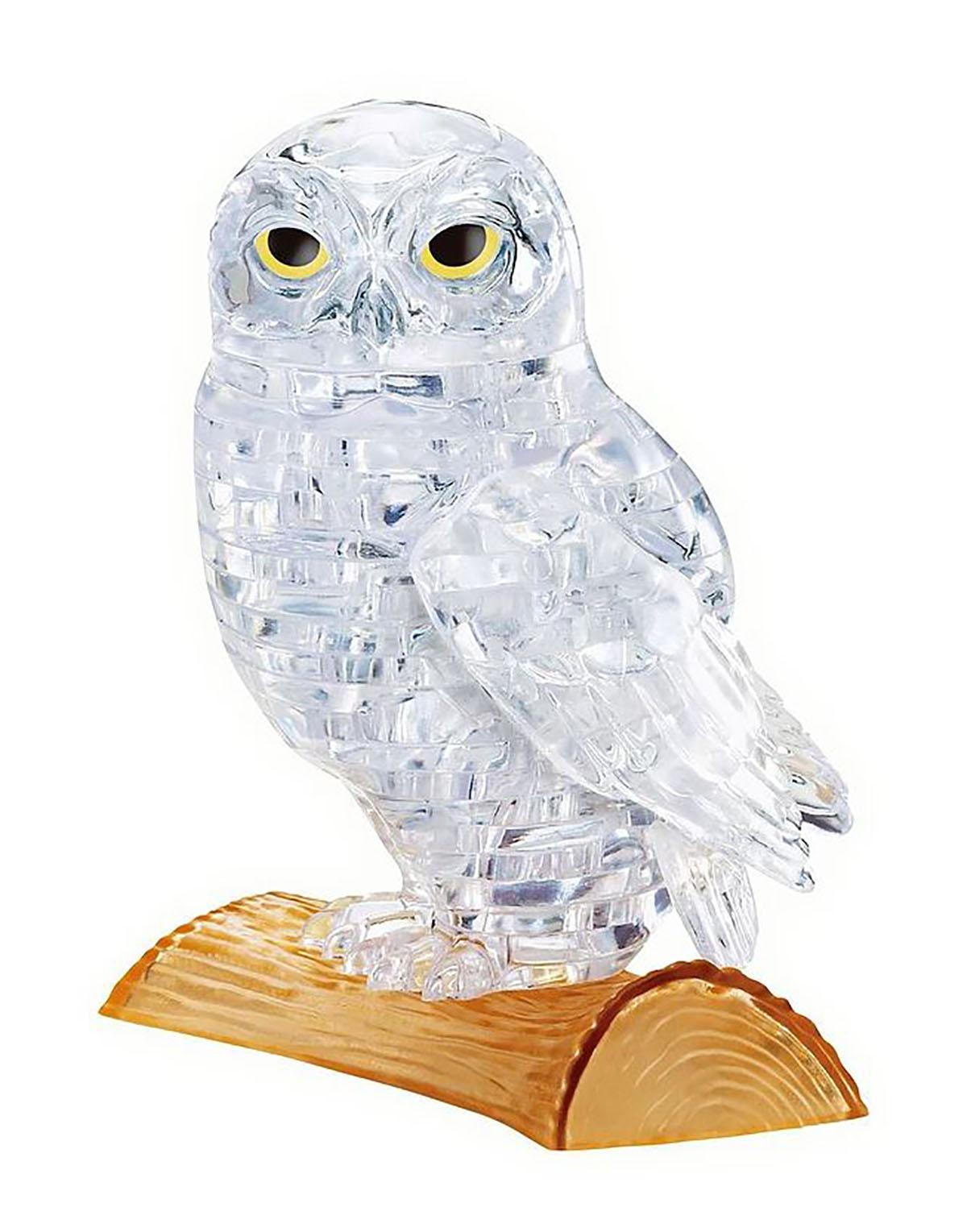 White Owl Birds 3D Puzzle