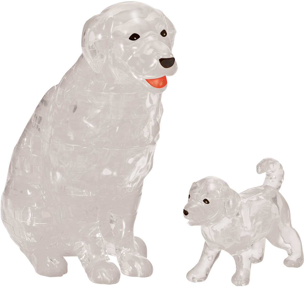 Dog and Puppy Dogs 3D Puzzle