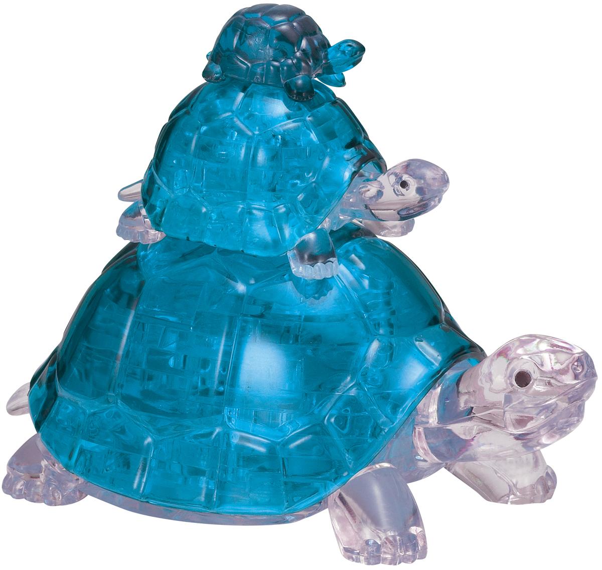 Blue Turtles Animals 3D Puzzle