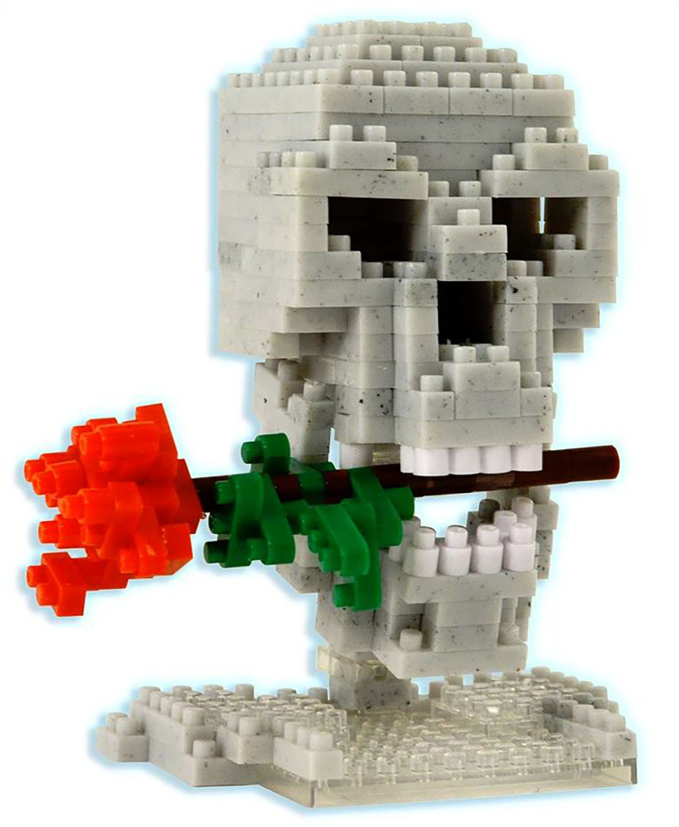 Skull and Rose Gothic 3D Puzzle