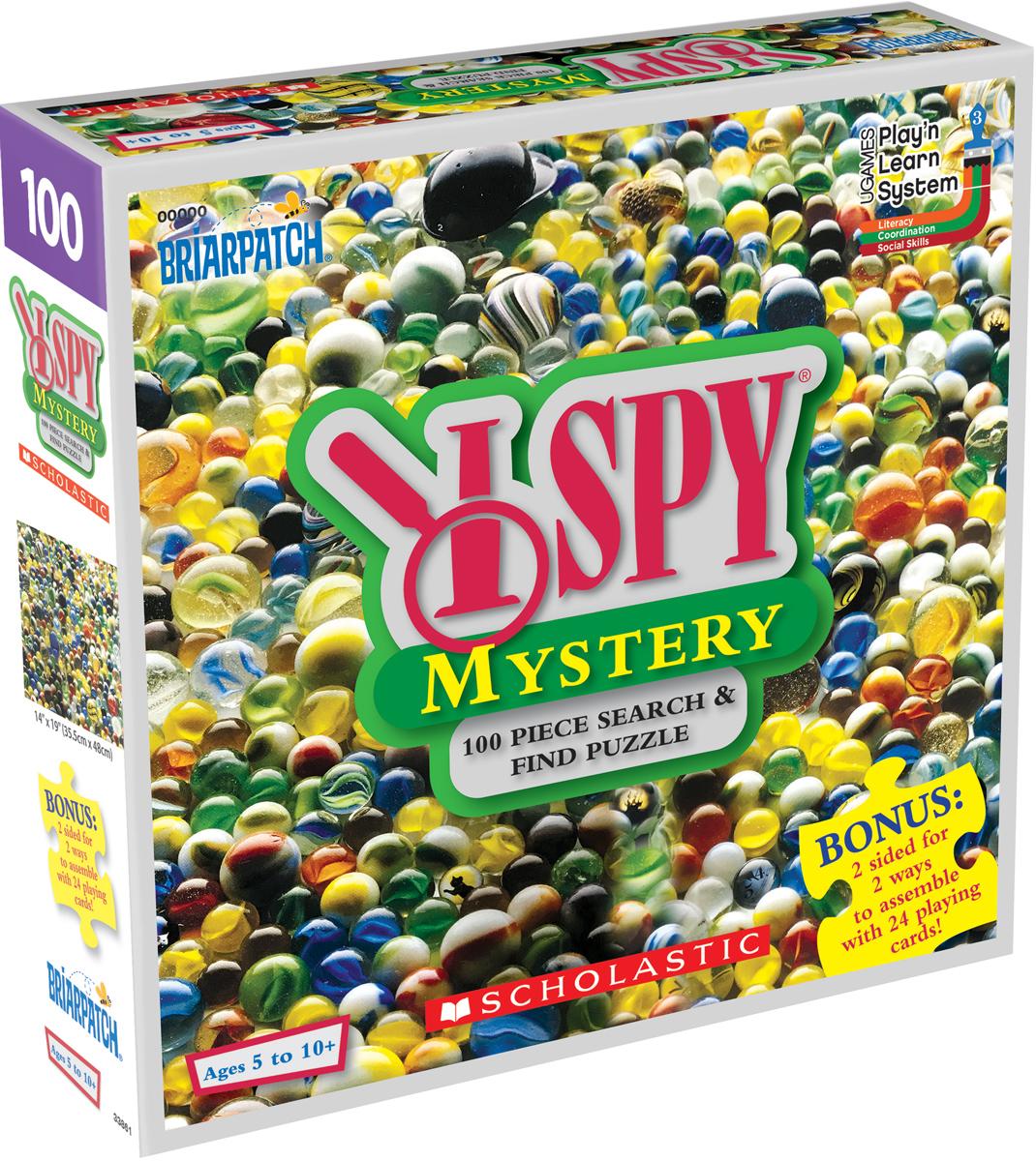 I SPY Mystery Educational Hidden Images