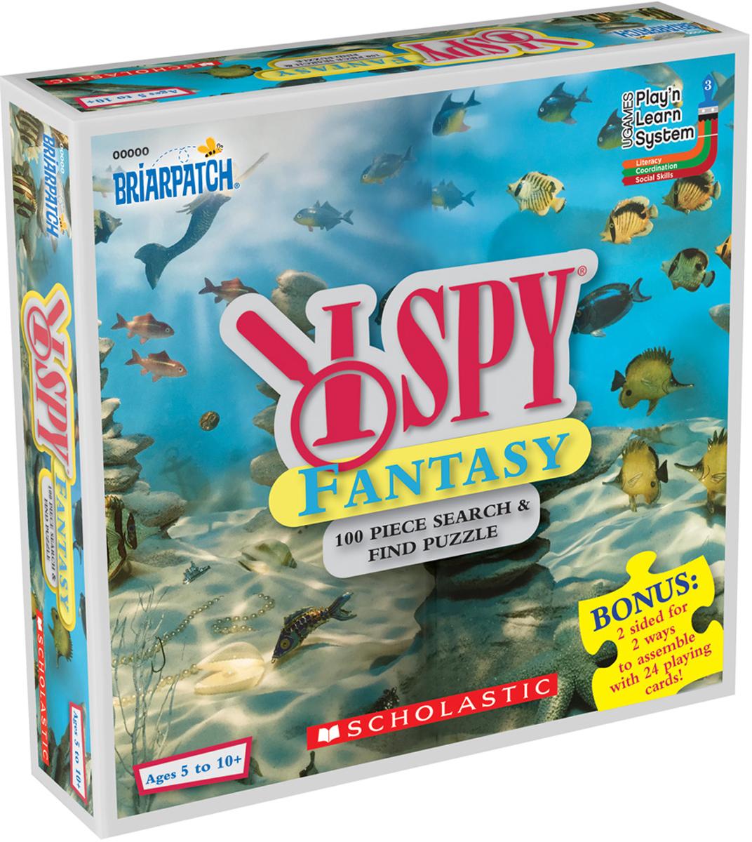 I SPY Fantasy Educational Hidden Images