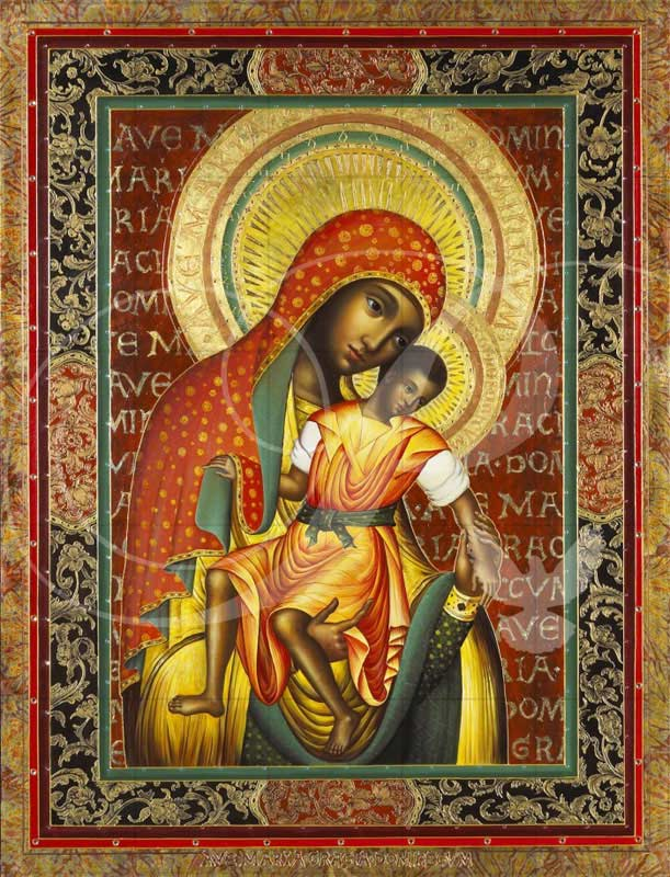 Black Madonna Religious Wooden Jigsaw Puzzle