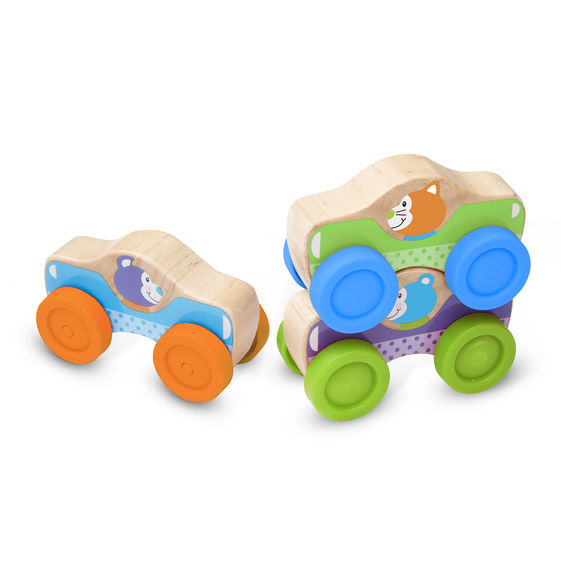 Animal Stacking Cars - Scratch and Dent