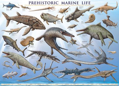 Prehistoric Marine Life Marine Life Jigsaw Puzzle