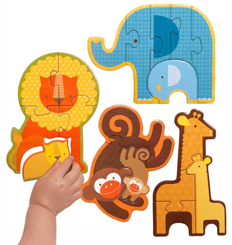 Safari Babies Jungle Animals Jigsaw Puzzle