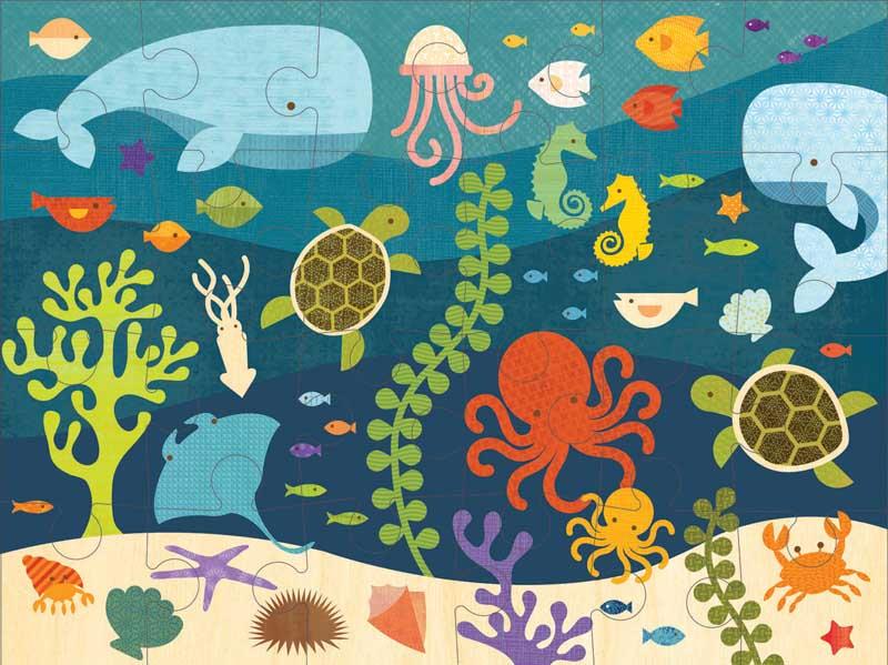 Ocean Life Under The Sea Jigsaw Puzzle