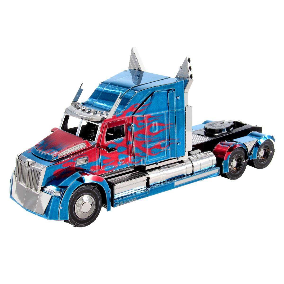 Optimus Prime Western Star 5700 Truck Cars Metal Puzzles