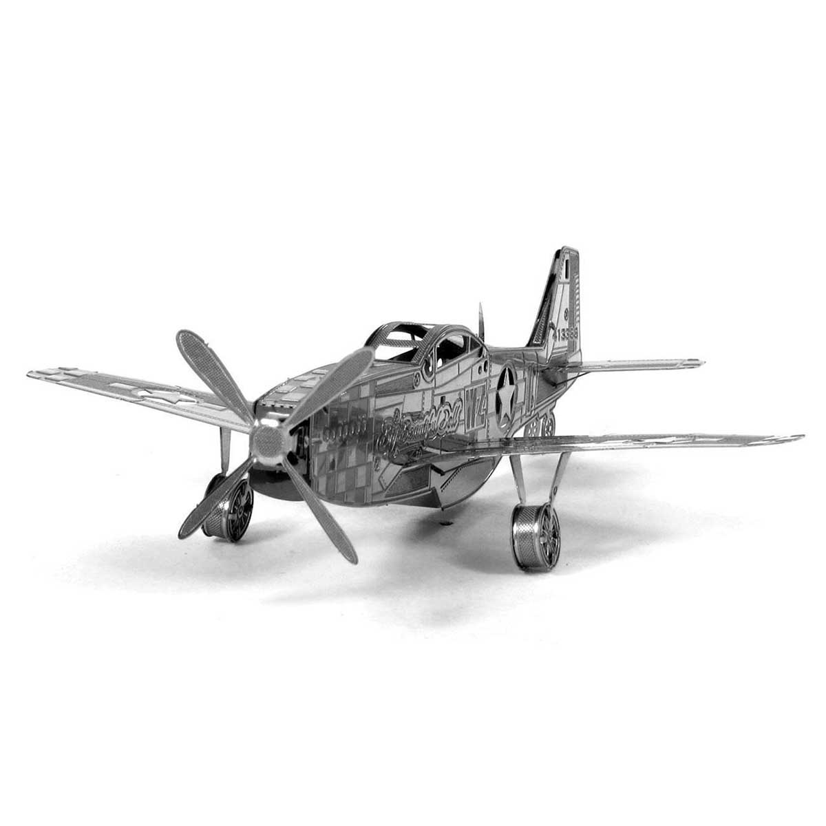Mustang P-51 Boeing plane Planes 3D Puzzle