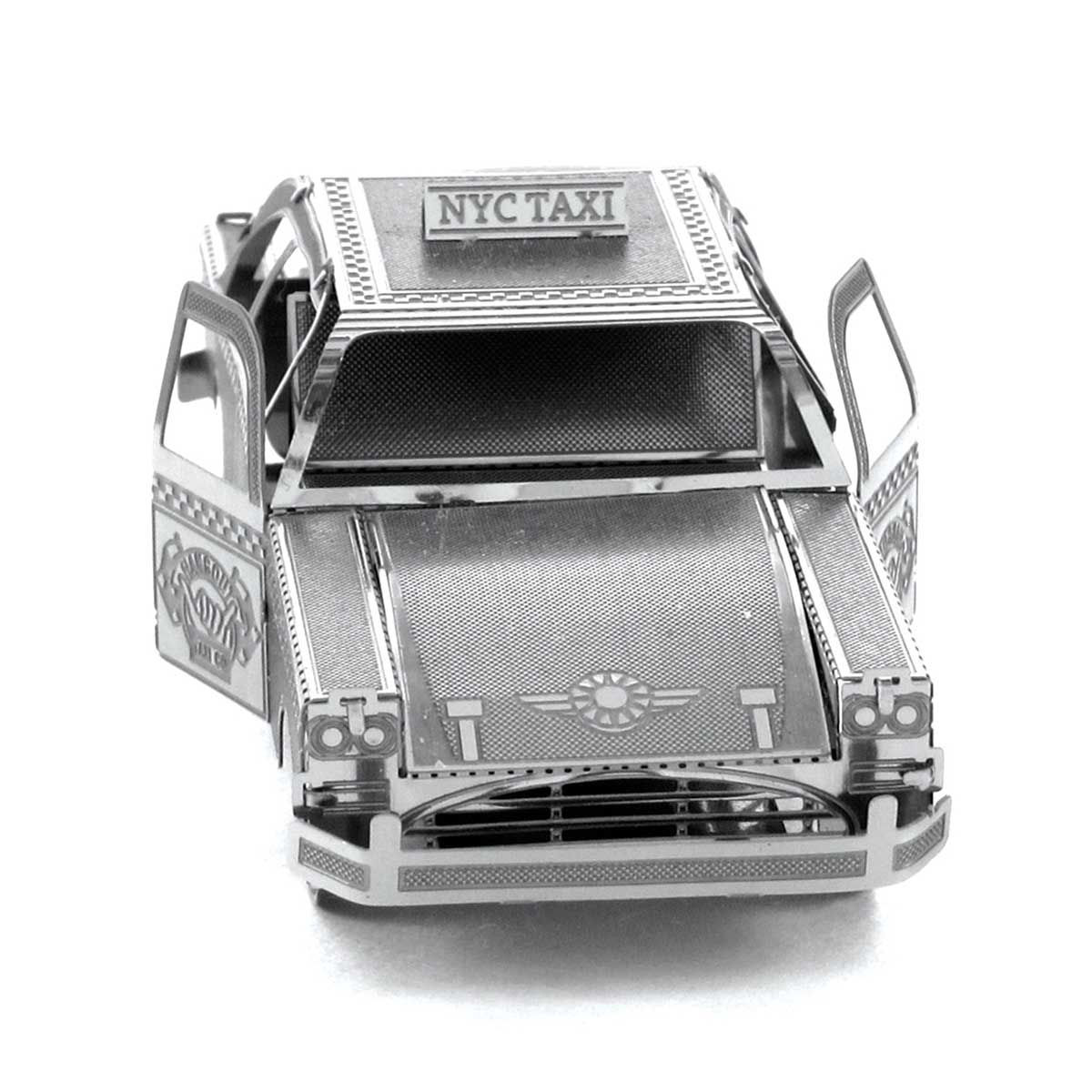 Checker Cab Cars Metal Puzzles