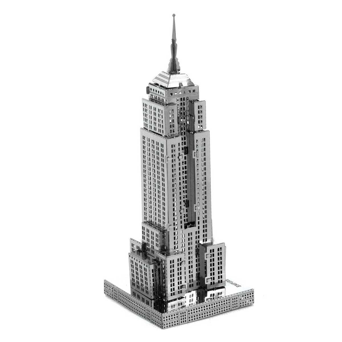 Empire State building Landmarks / Monuments Metal Puzzles