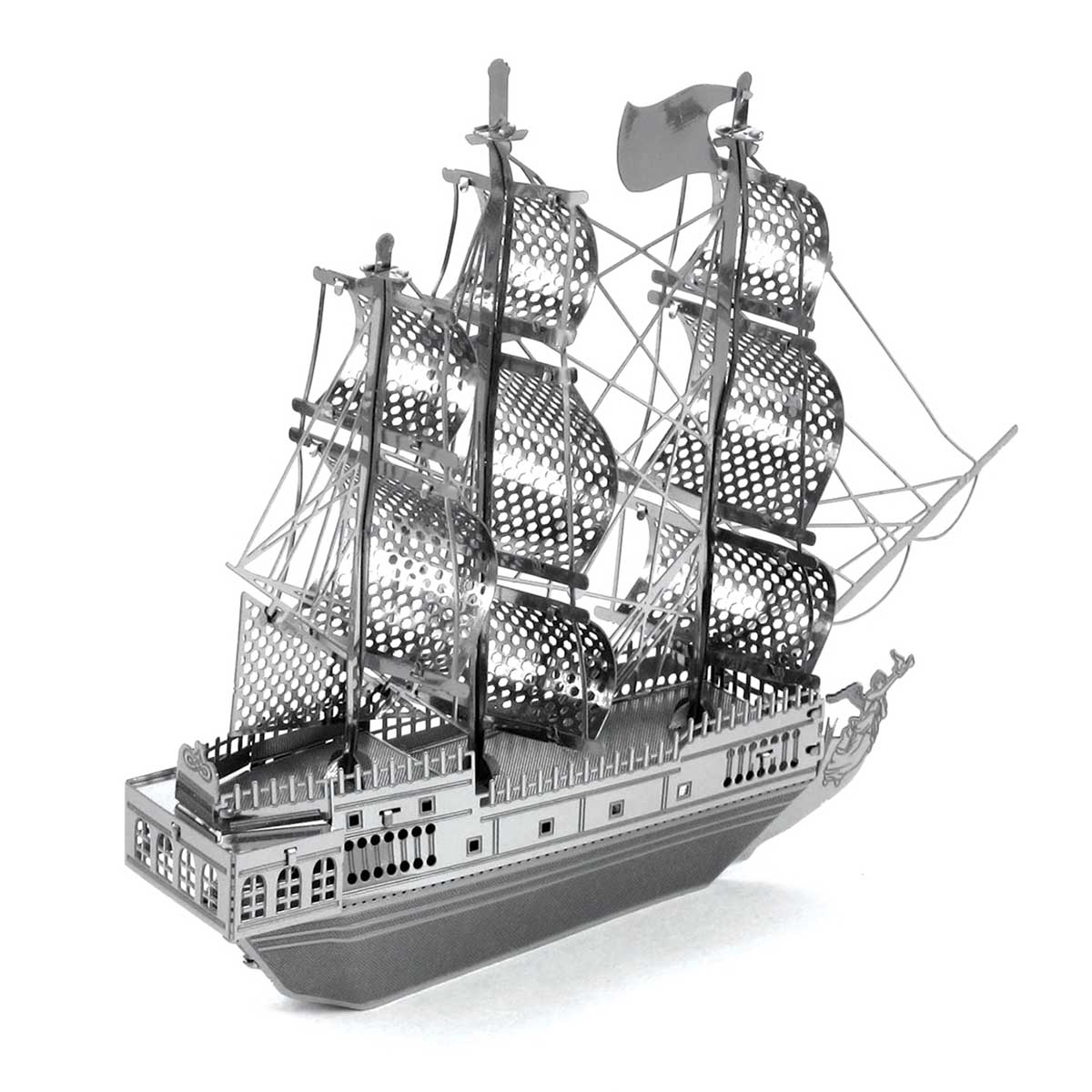 Black Pearl ship Boats Metal Puzzles
