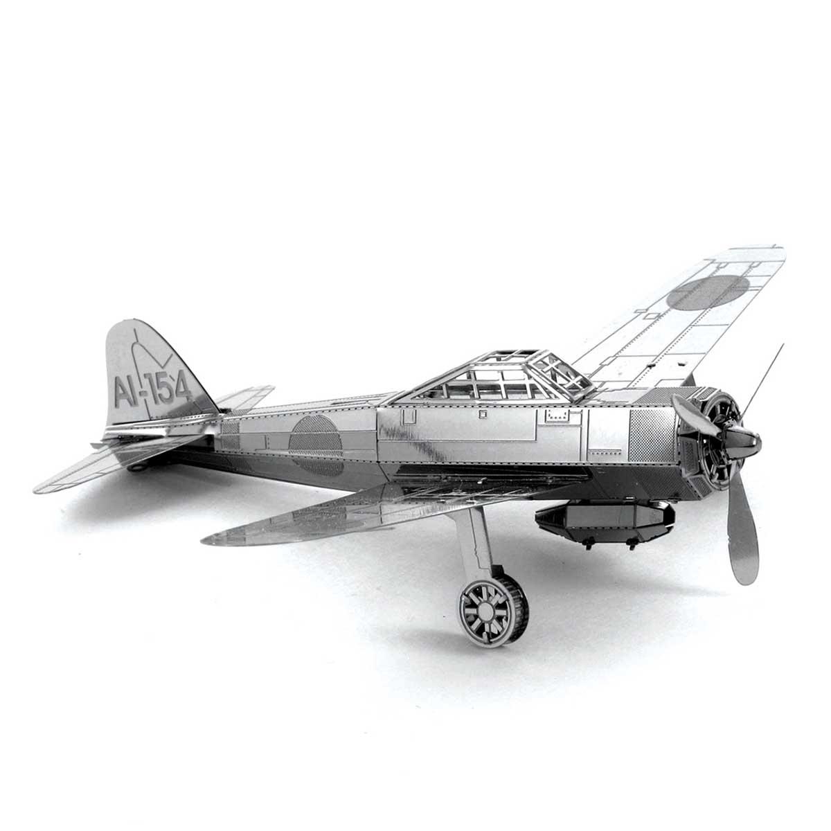 Mitsubishi Zero Planes Metal Puzzles