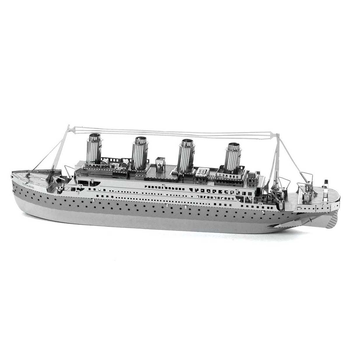Titanic ship Boats Metal Puzzles