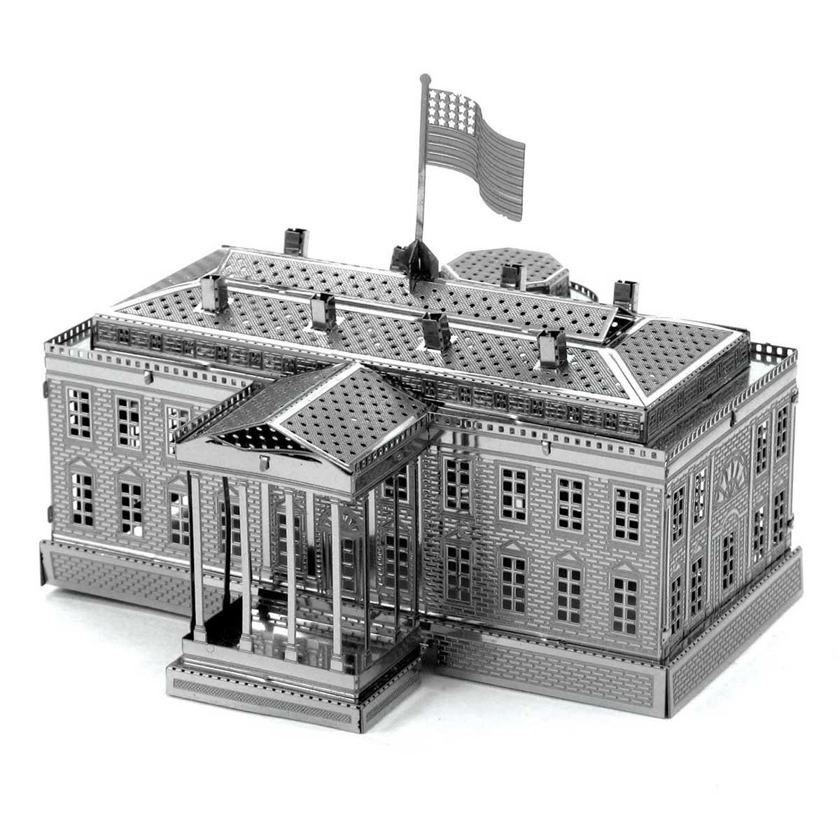 White House Landmarks / Monuments Metal Puzzles