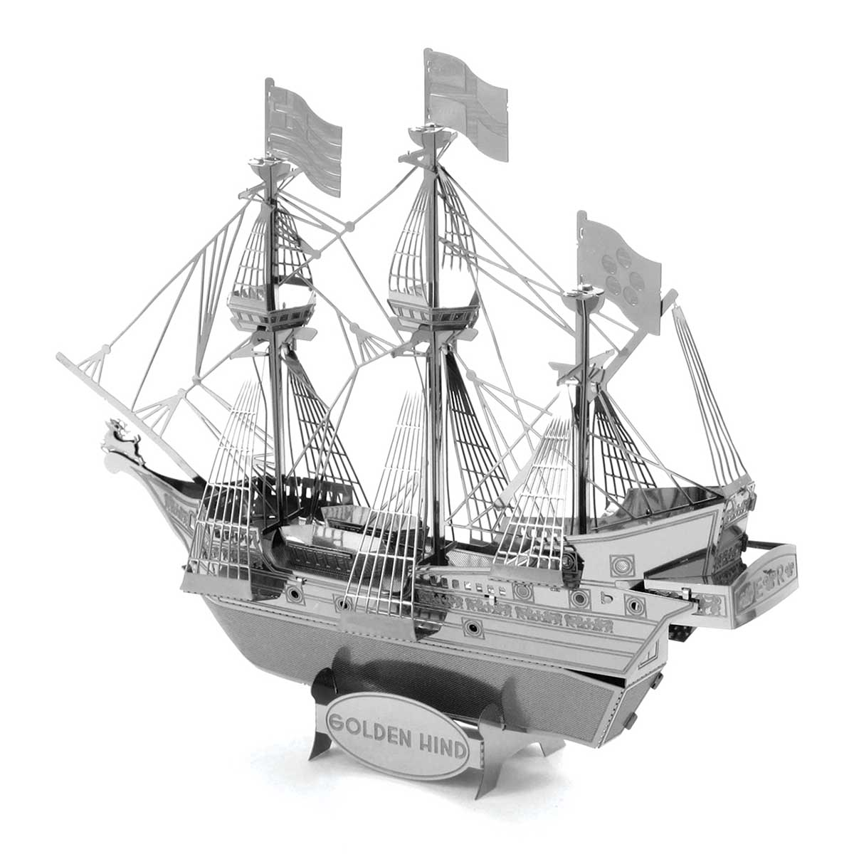 Golden Hind ship Boats 3D Puzzle