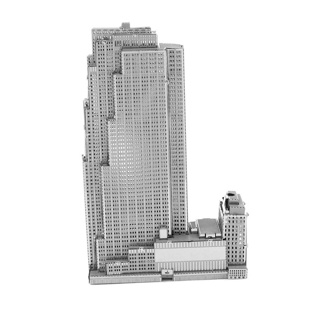 30 Rockefeller Plaza New York Metal Puzzles