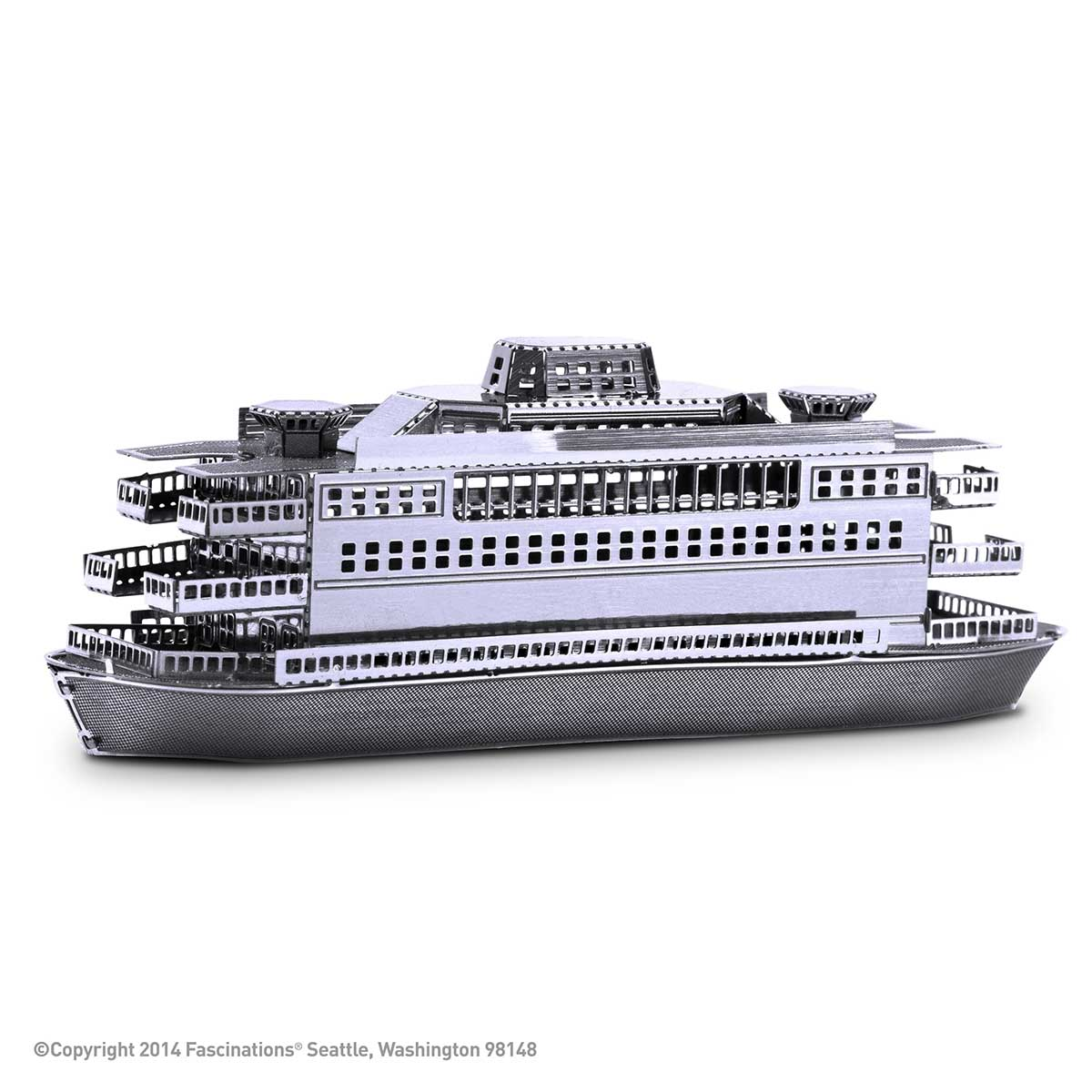 Commuter Ferry Boats 3D Puzzle